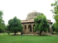 Sikandar Lodi Tomb in the Lodhi Gardens