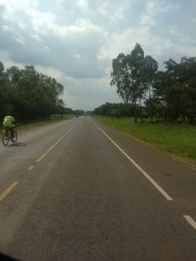Random, lovely road in Gulu