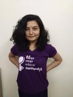 T-shirt T-shirt (Safe Cities for Women)