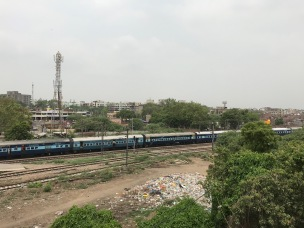 The railway station next to KBV.