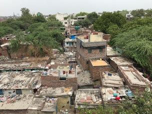The slum right next to KBV.