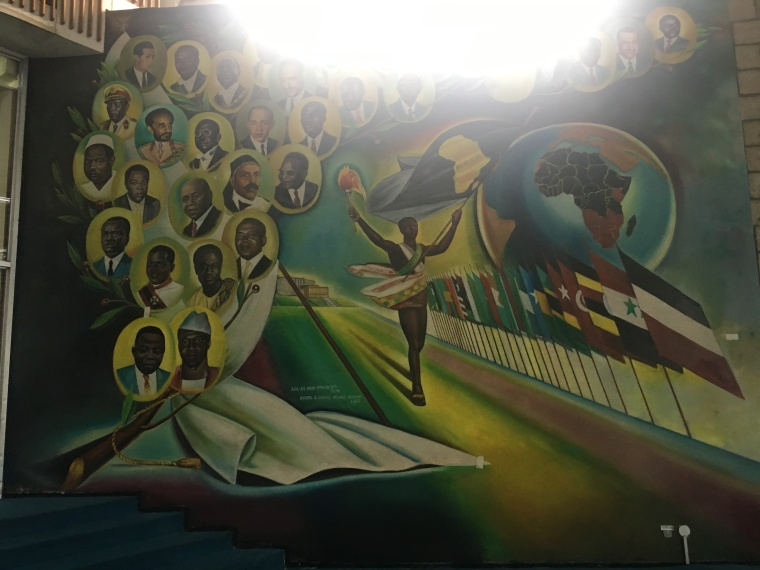 Mural African Union