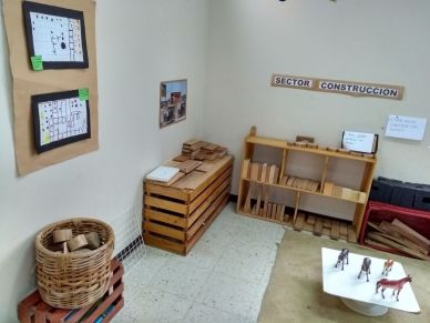 The preschool I visited took a learner-centered approach and gave children the ability to move about freely between the learning stations of their choice.