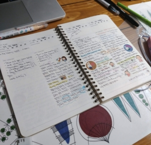 Daily Journal written in both English and Korean