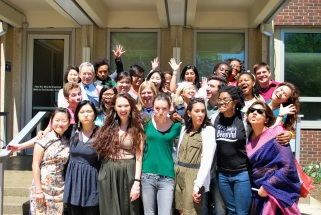 Still happy! May 2012: The last day of class in 2012!