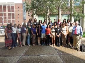Shining Happy People...August 2011: the 2011-12 cohort on orientation day...