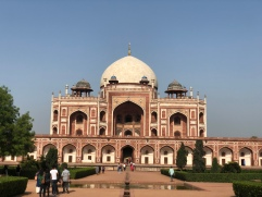 Humayun's Tomb - Inspiration for the Taj