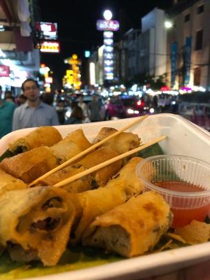 Eggroll in Yaowarat Street Food (Chinatown)