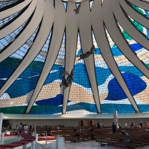 Cathedral of Brasília (interior)
