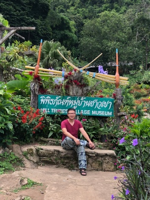 A garden in the Hmong village