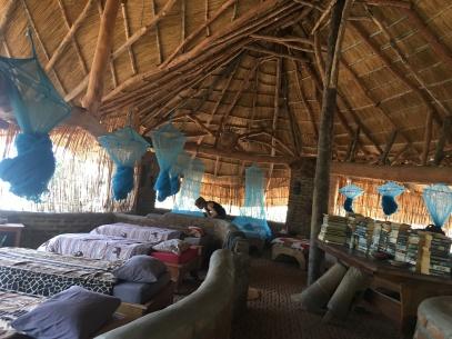 Hostel at Liwonde National Park